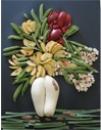 Tableau Gourmand, réalisation d'élève de 6è en fruits et légumes