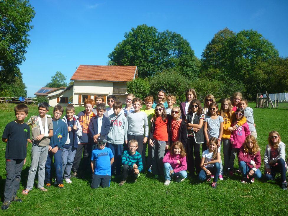 La classe de 6ème A est partie 3 jours à Vassieux dans le sud du Vercors