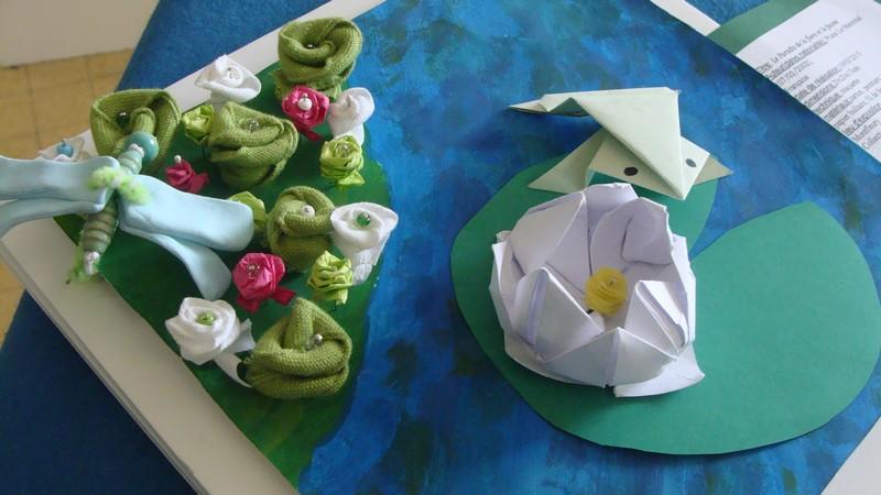 Jardins des sensations d'après le jardin de Giverny de Claude MONET