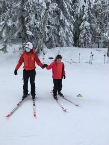 Sortie ski de fond CM1