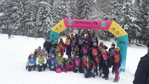 Ski de fond et APATHLON, 6E et Ulis Collège